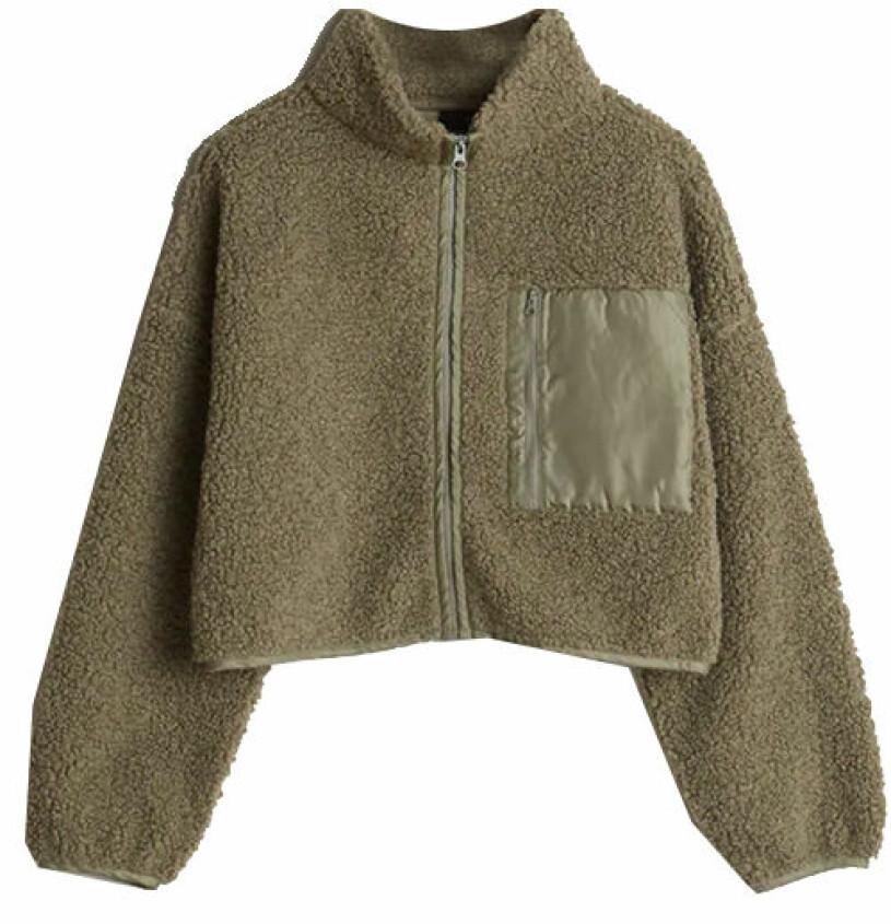 grön fleece gina tricot