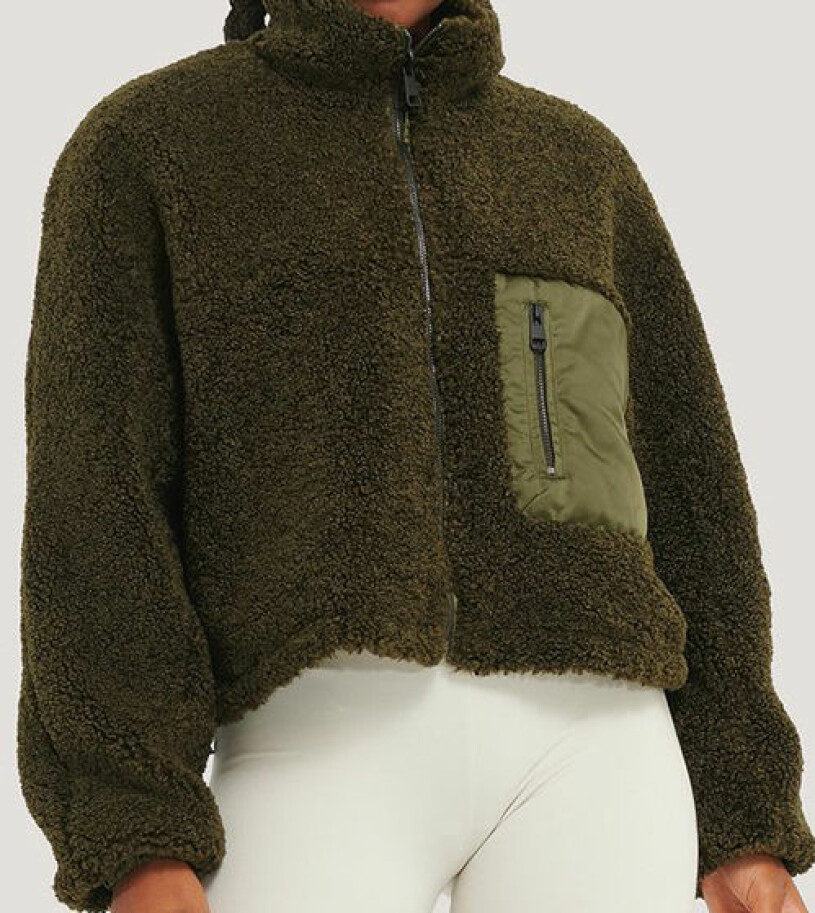 grön fleece nakd