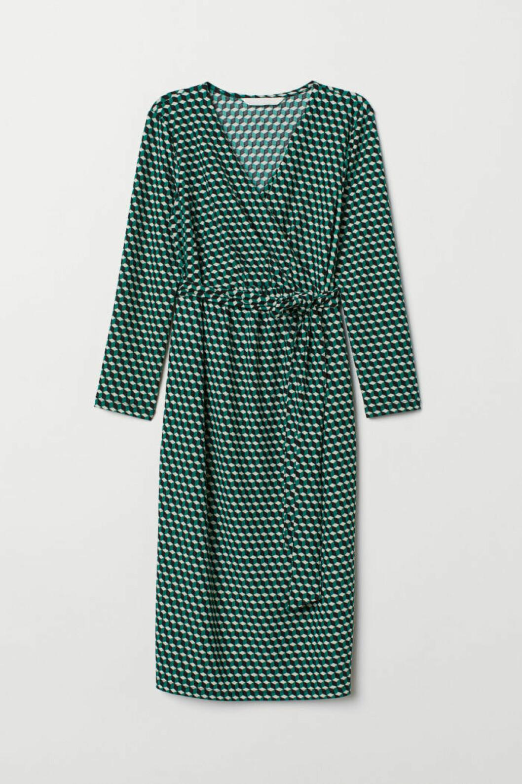 Grön gravidklänning