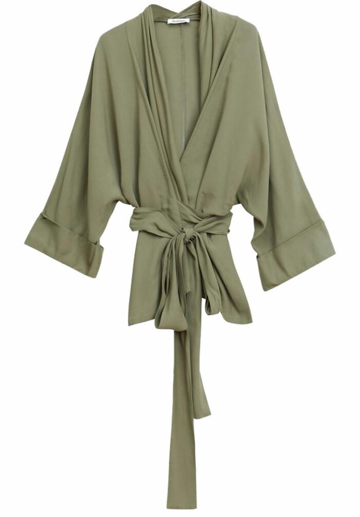 grön kimono från rodebjer