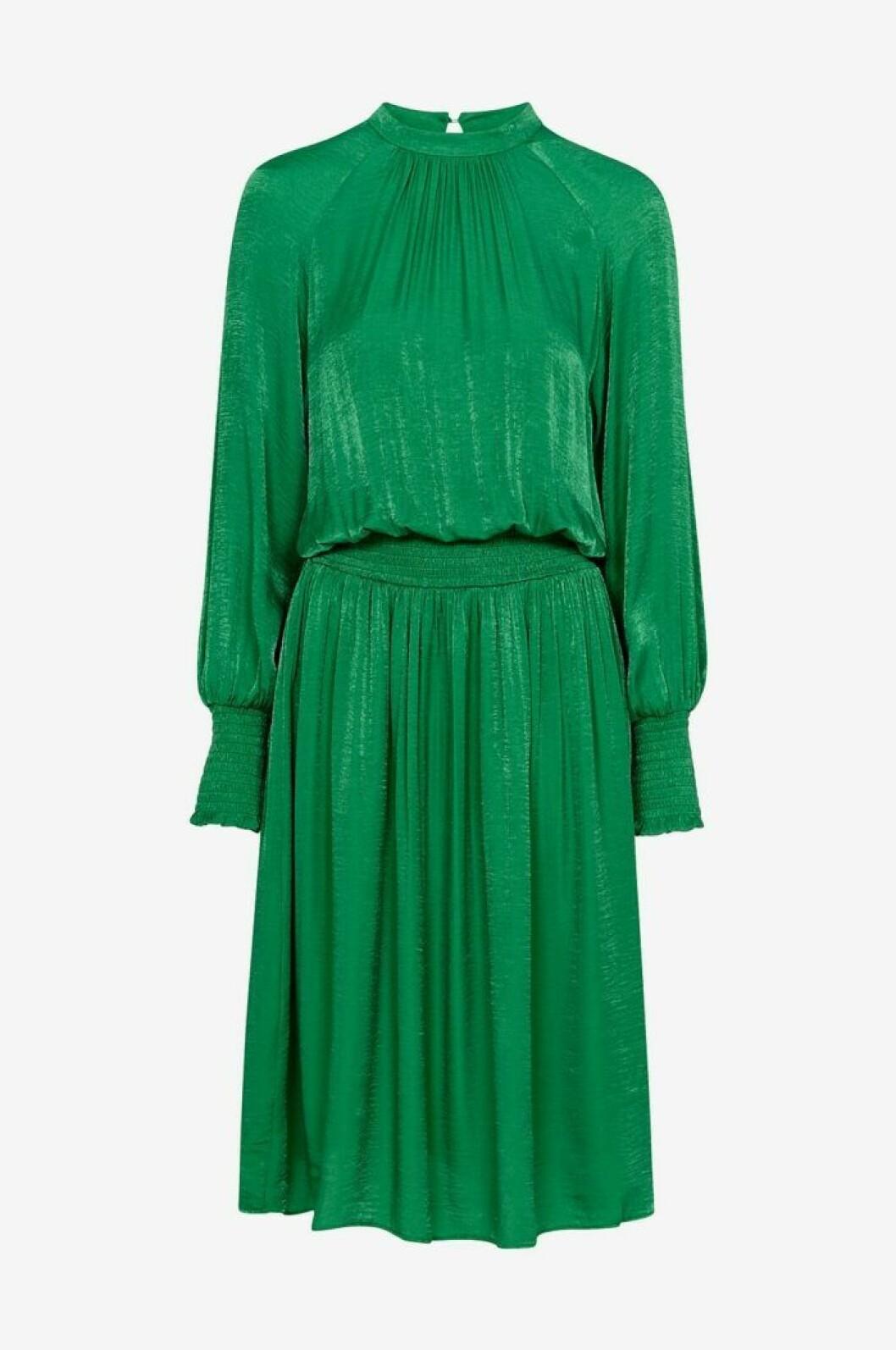 Grön klänning till bröllop
