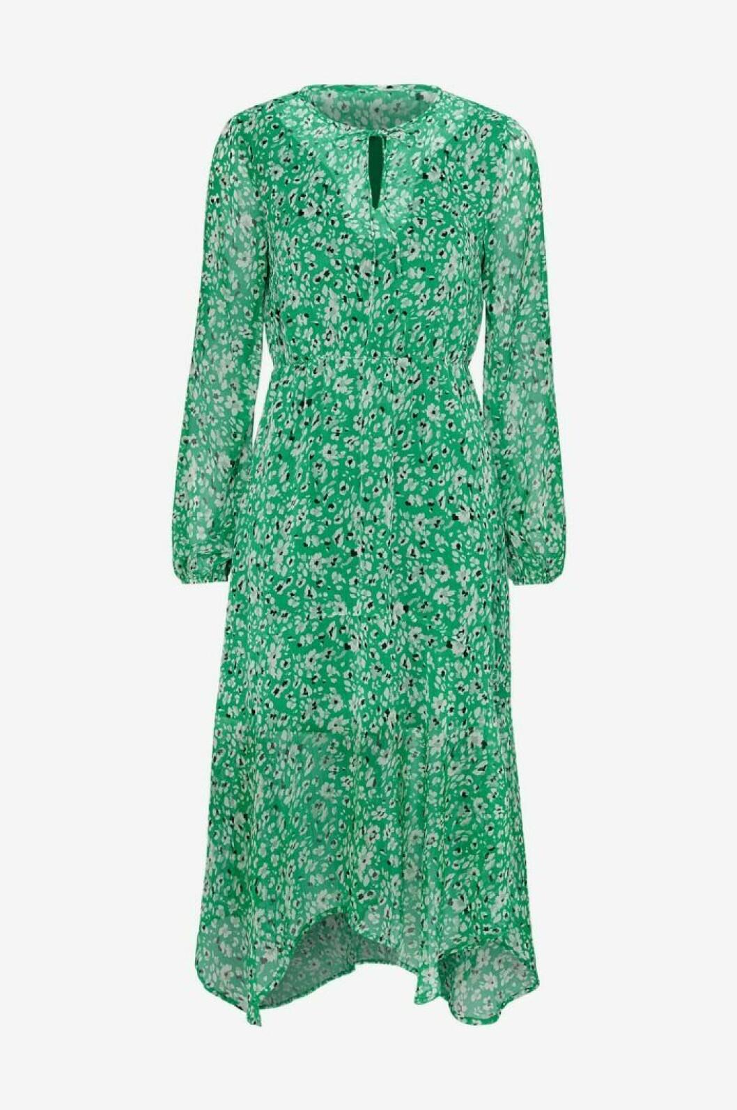Klargrön klänning