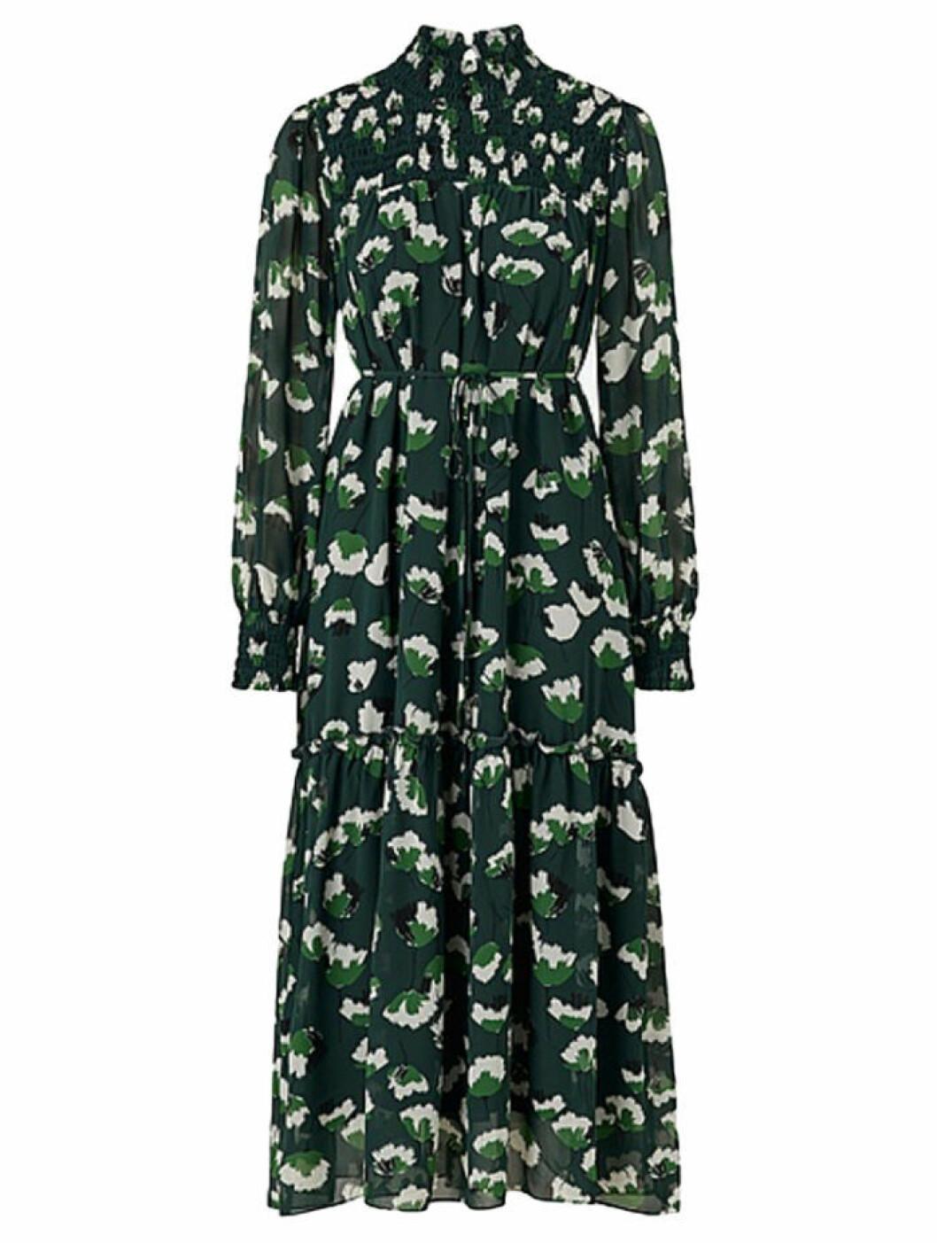 Grön klänning maxiklänning