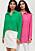 grön och rosa skjorta från Ellos Collection till sommaren och hösten 2021
