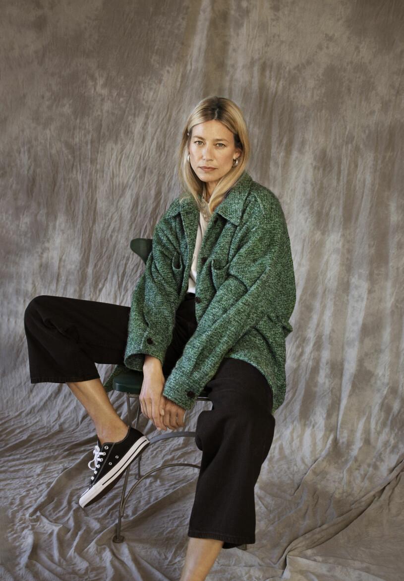 Grön Skjortjacka Rabens Saloner aw 20 Femina