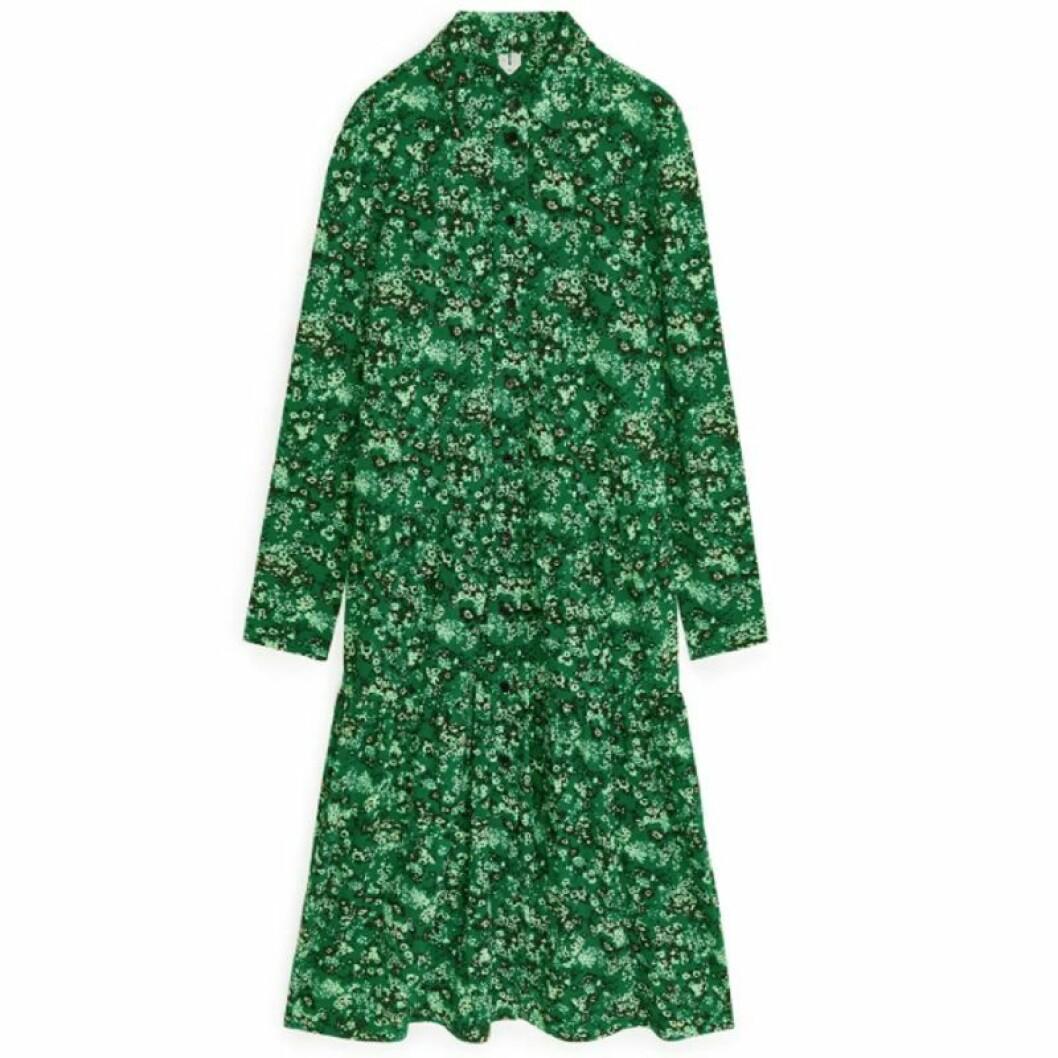 Grön skjortklänning från ARKET