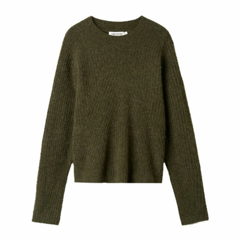 grön stickad tröja från carin wester