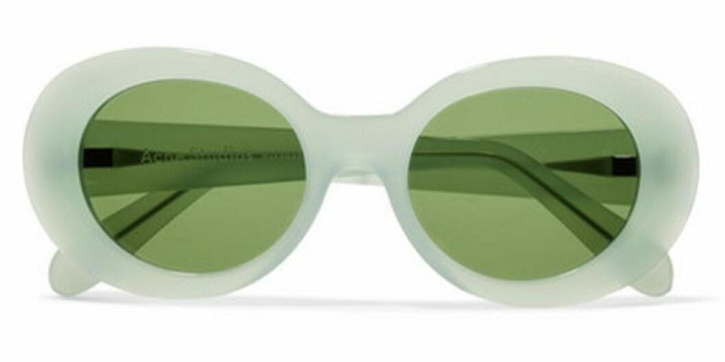 Pastellgröna solglasögon