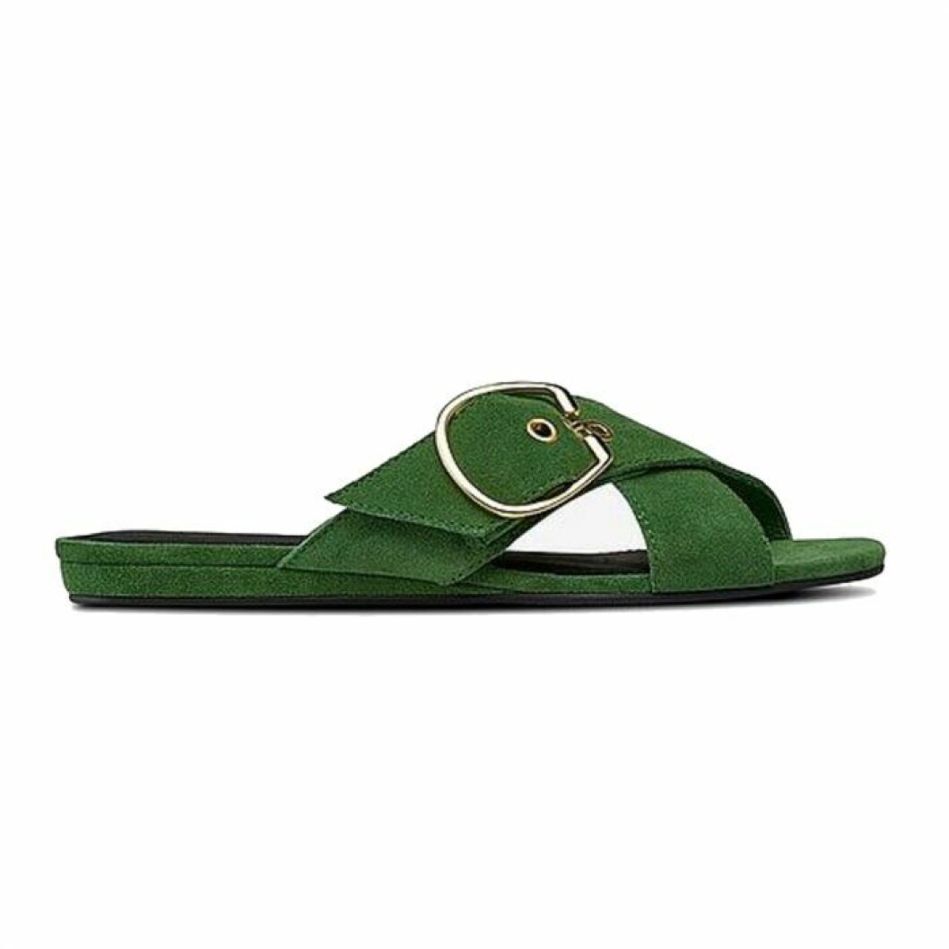 Gröna sandaler från Agnes Cecilia