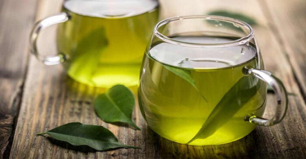 Grönt te kan vara bra för huden