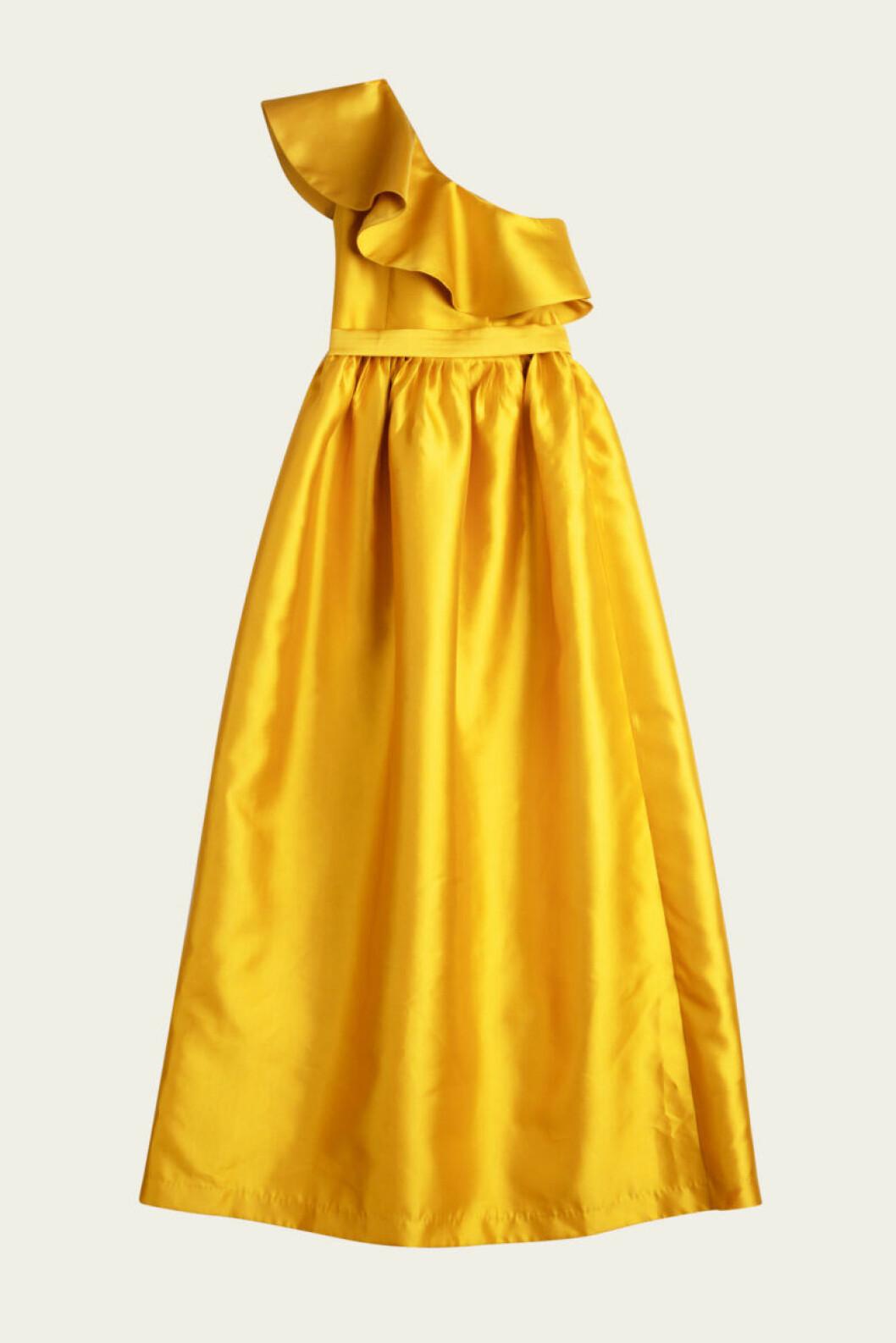 Gul klänning från By Malina