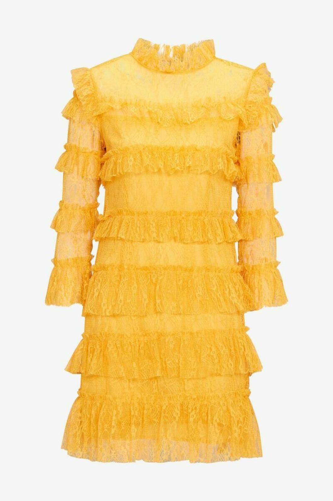 Gul klänning By Malina