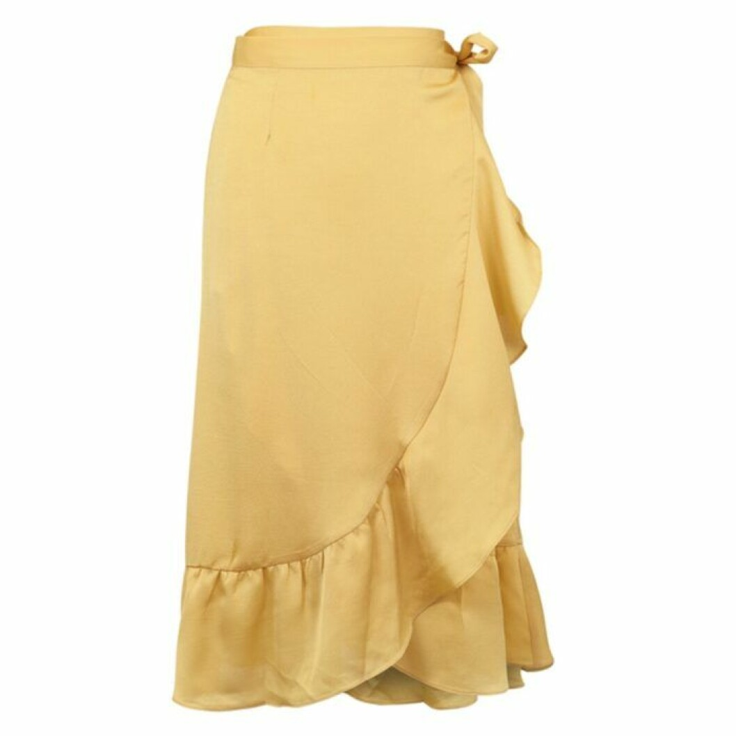 Kjol kjol med volang