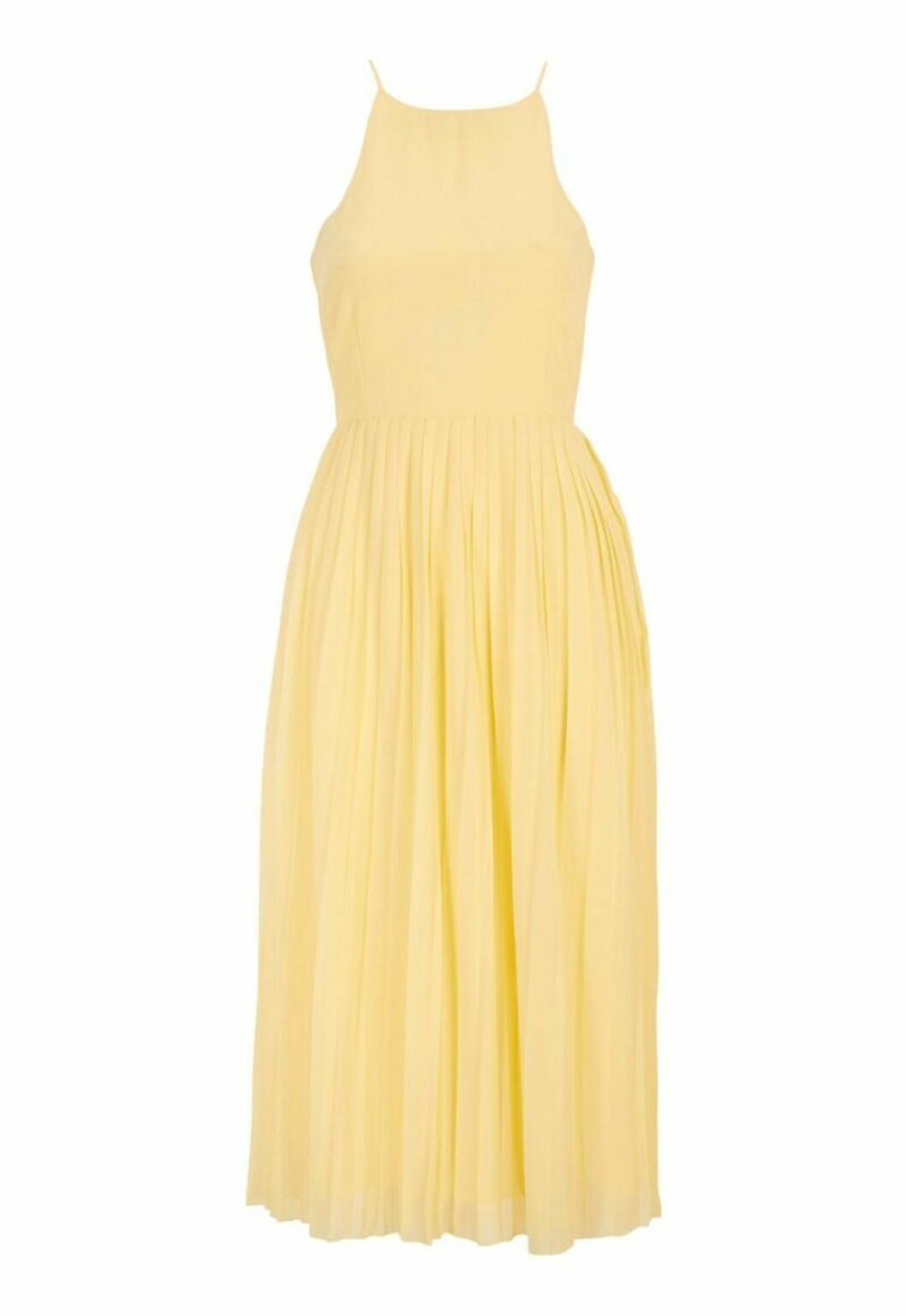 Gul klänning till sommaren