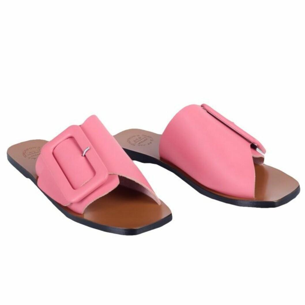 Rosa sandaler