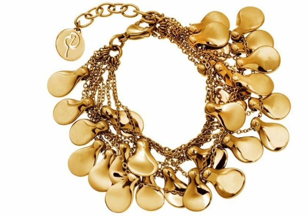Guldigt armband från edblad