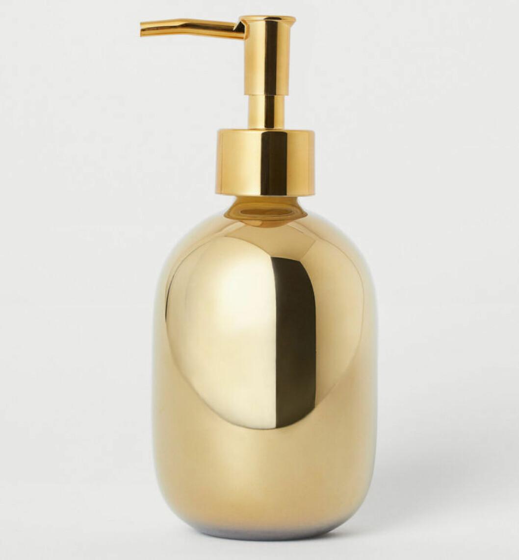 Guldig tvålpump från H&M Home