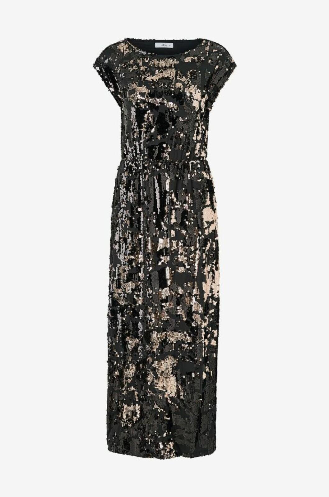 Paljettklänning maxilängd från Ellos