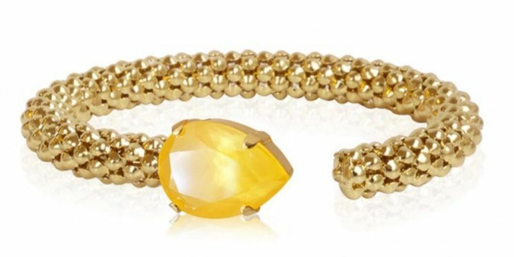 Guldigt armband från Caroline Svedbom