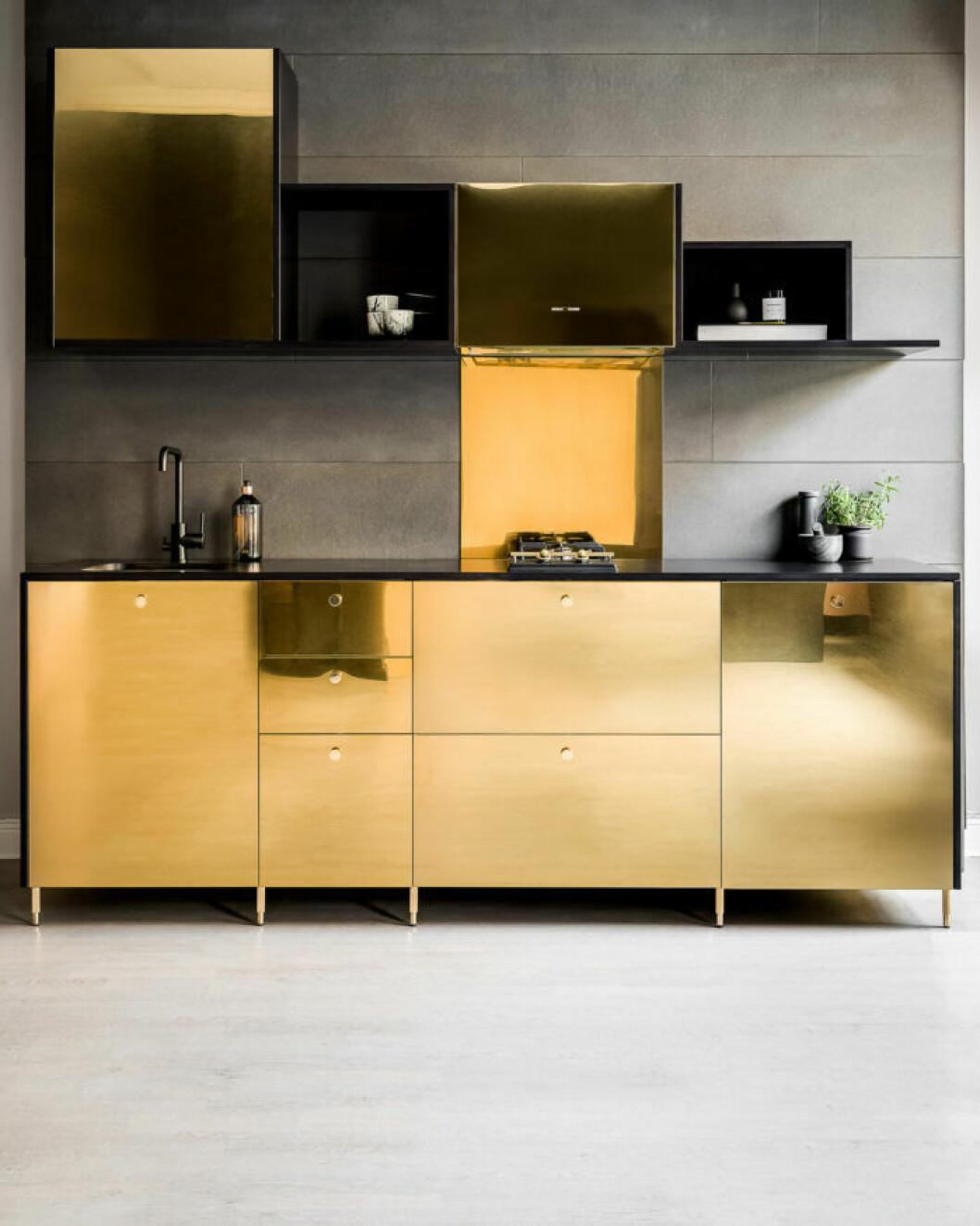 Guldluckor till Ikea-köket från Picky living och Triss
