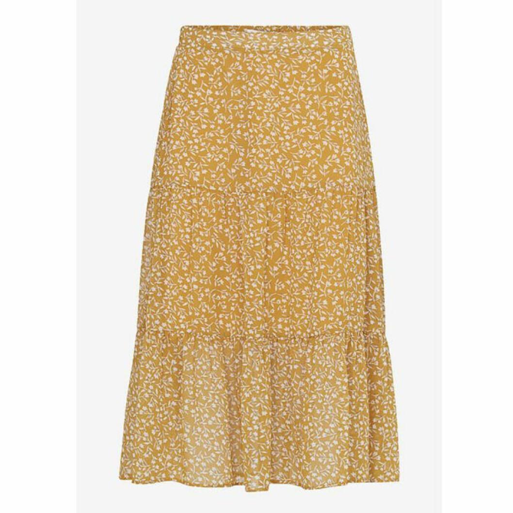 Gul kjol från ellos