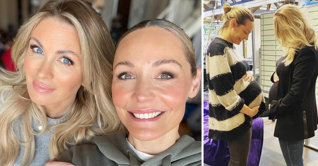 Carolina Gynning & Berg om att vara vara småbarnsmammor (igen!) vid 40+