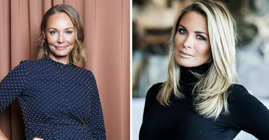 Carina Berg och Carolina Gynning