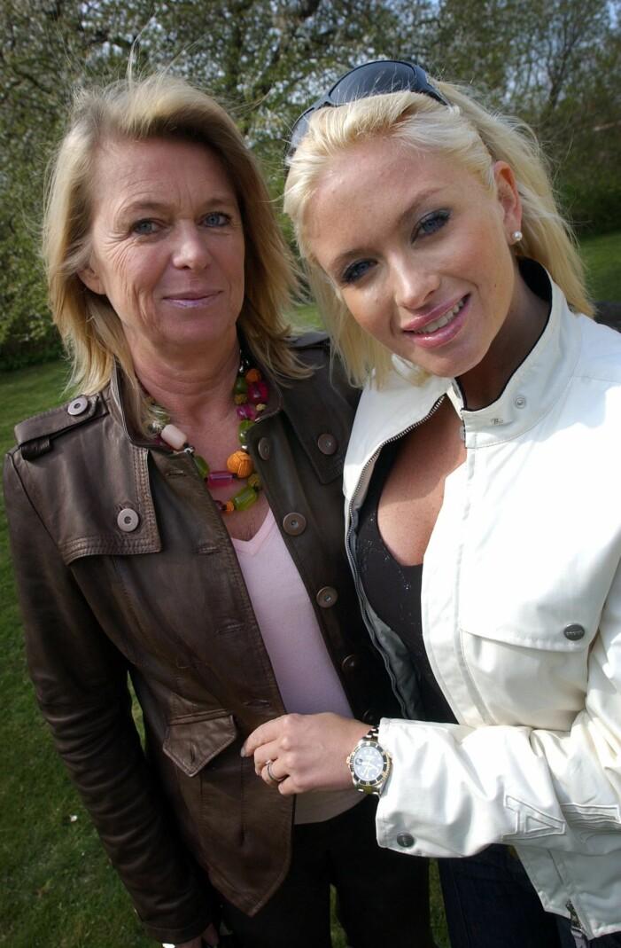 Carolina Gynning med mamma Agneta