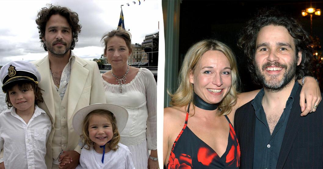 Erik och Martina Haag har fyra barn tillsammans.