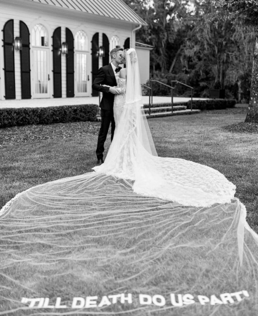 Hailey Bieber Justin bröllop