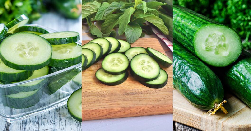 Hälsofördelar med att äta gurka