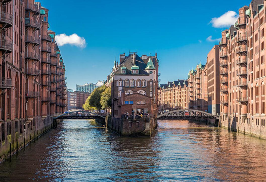 Åk till Hamburg med tåg för en weekend