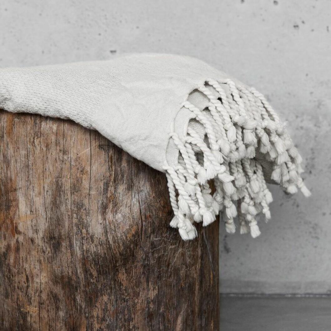 Hamam handduk i ekologisk bomull. Höstnyhet Granit.