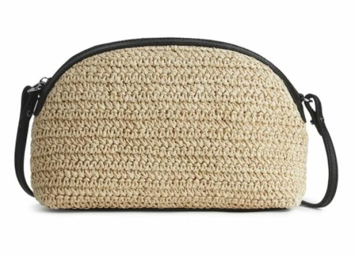 stråhandväska från Arket