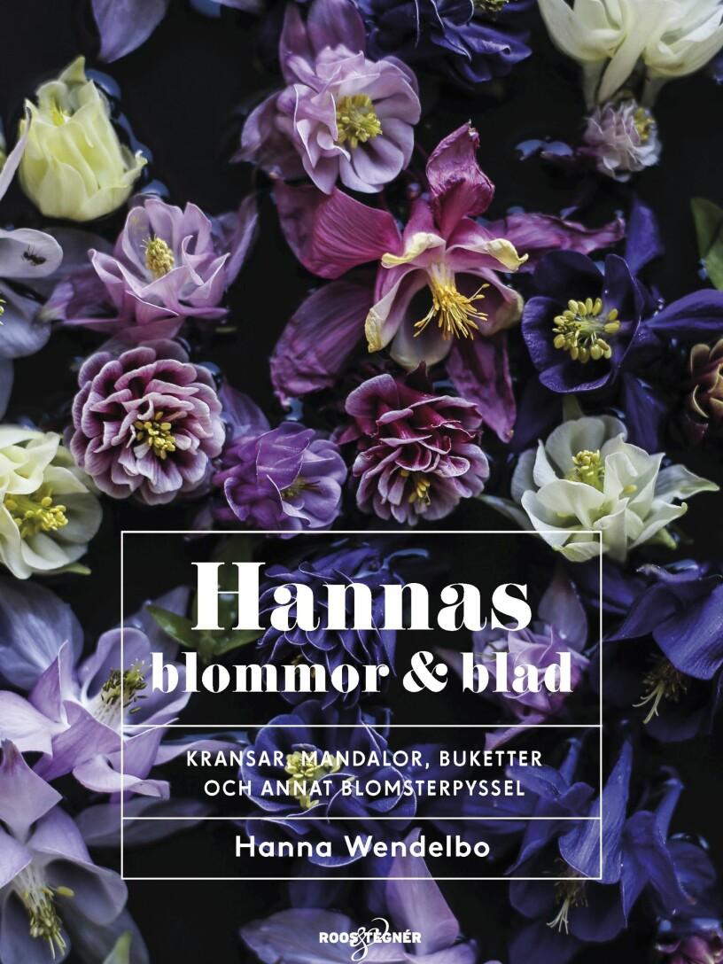 Hanna Wendelbo bok blommor och blad
