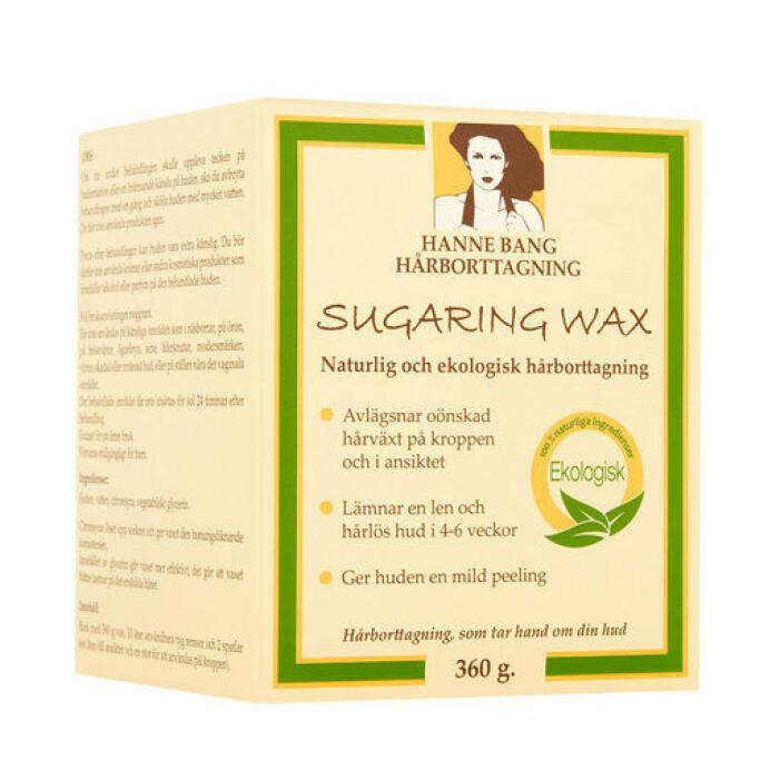 sockerbaserat hårborttagningsvax för kropp och ansikte