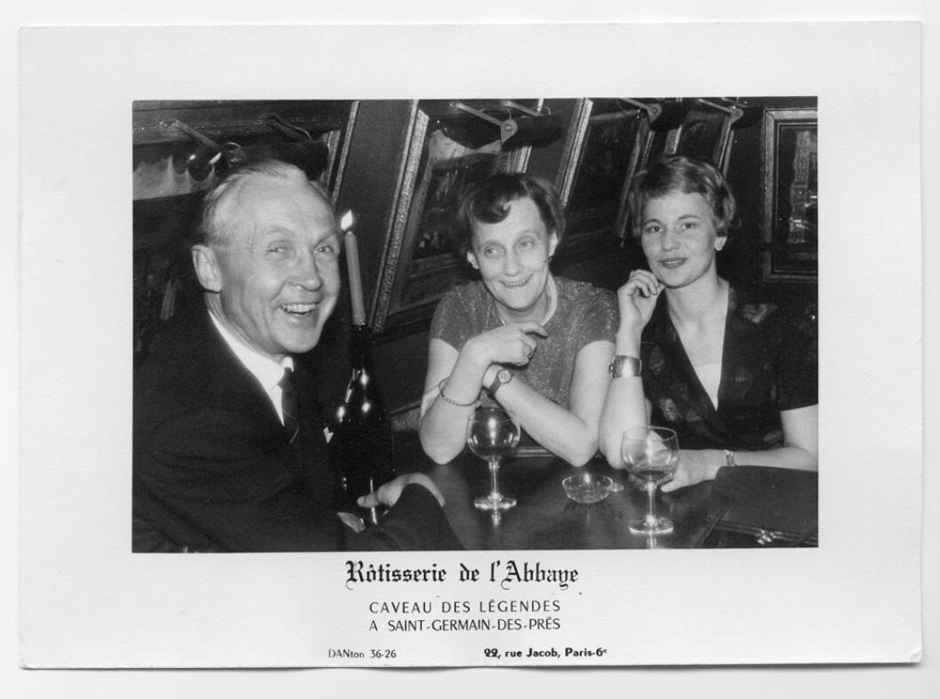 Hans Rabén Astrid Lindgren och Kerstin Kvint