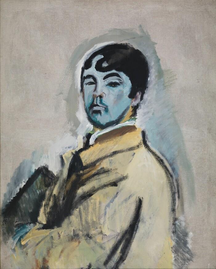 Självporträtt av harald Giersing, 1926.