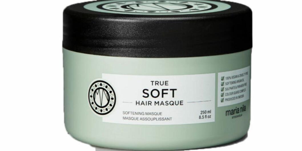 Hårinpackning för torrt hår