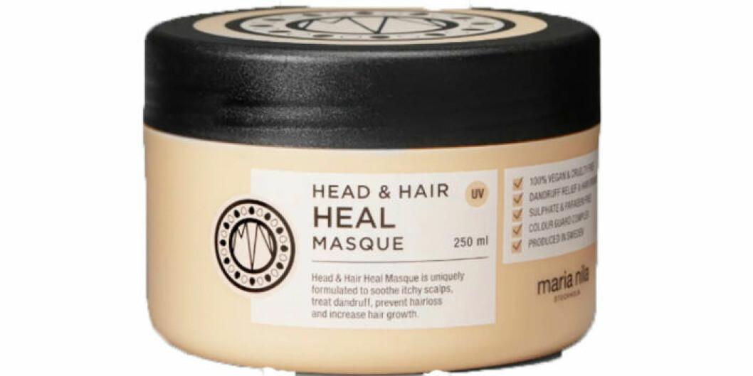 Maria Nila hårmask för att stimulera hårväxt