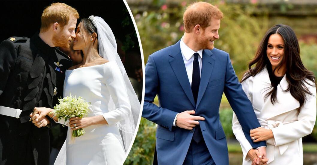 Prins Harry och Meghan Markle - allt om parets kärlekssaga