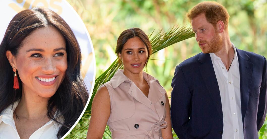 Prins Harry och Meghan Markle är glada