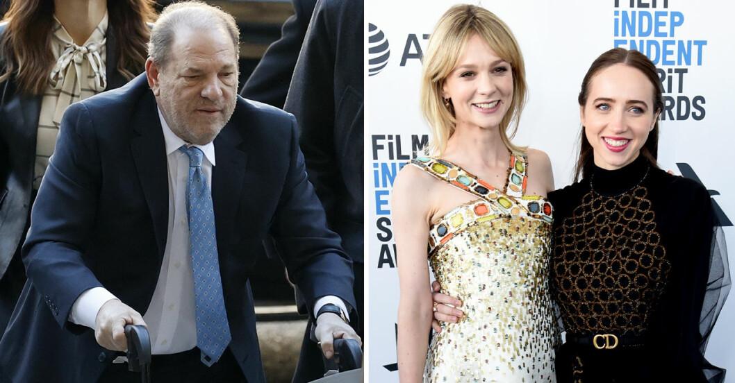 Carey Mulligan och Zoe Kazan har huvudrollerna i nya filmen om Harvey Weinstein