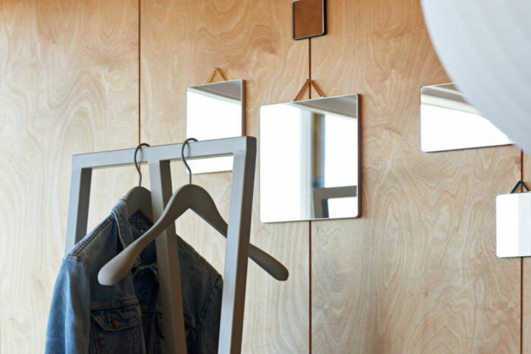 Speglar kan göra rummet ljusare