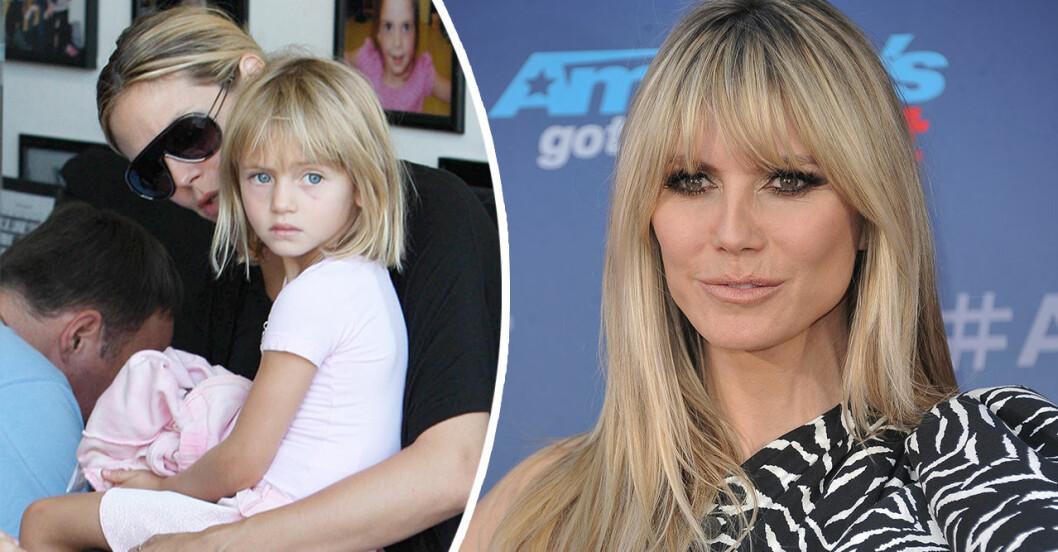 Heidi Klums dotter Leni har vuxit upp – nya bilderna visar