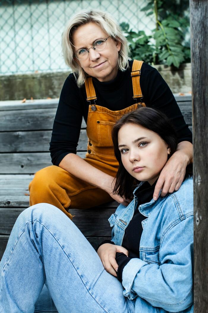 Nadja Yllner med dottern Lova