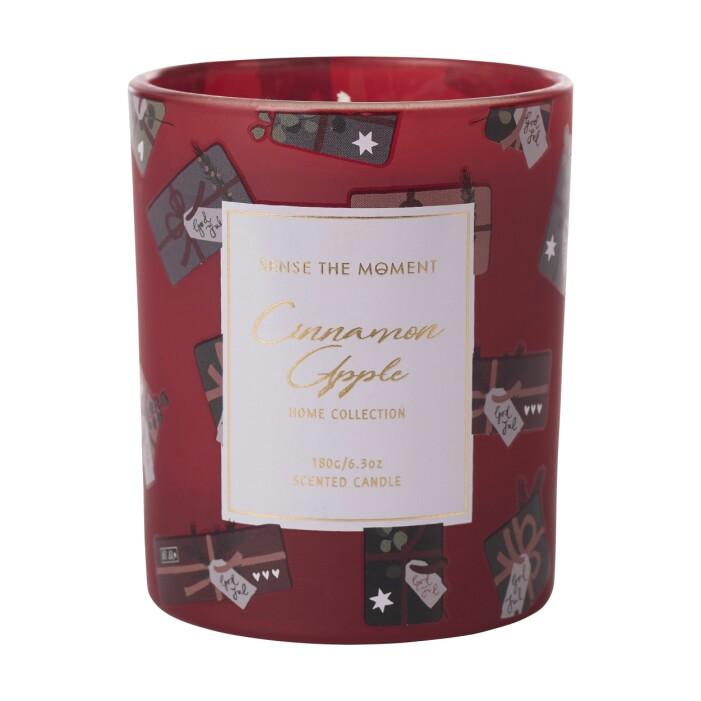 Doftljus Hemtex kanel appel jul