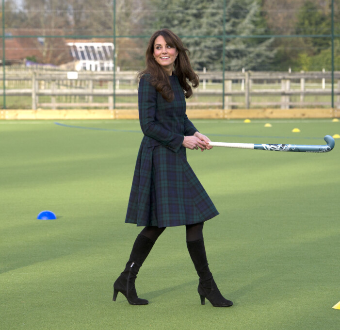Hertiginnan Kate Middleton.