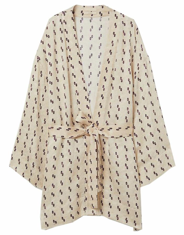mönstrad kimono från H&M