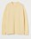 Ljus gul stickad tröja med rundad hals. Tröja från H&M.